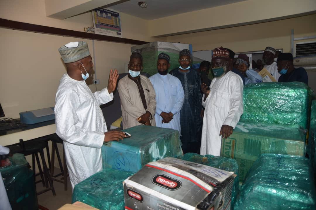 US based foundation donates laboratory equipment worth 150,000 dollars to Ahmadu Bello University
