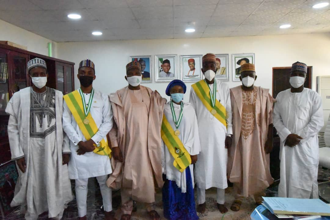 students conferred with NYSC Presidential Awards