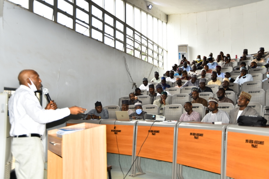 ABU early career academics interact with Vice Chancellor