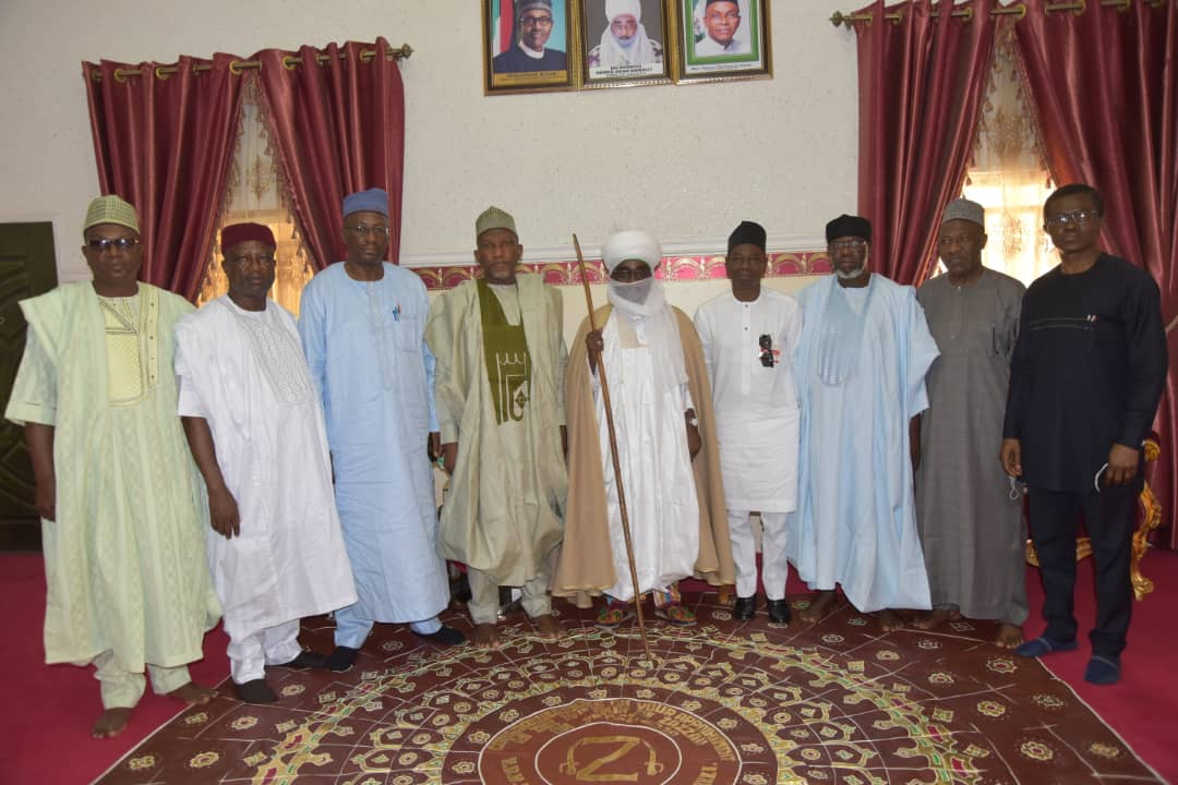 Emir of Zazzau receives members of ABU Presidential Visitation Panel