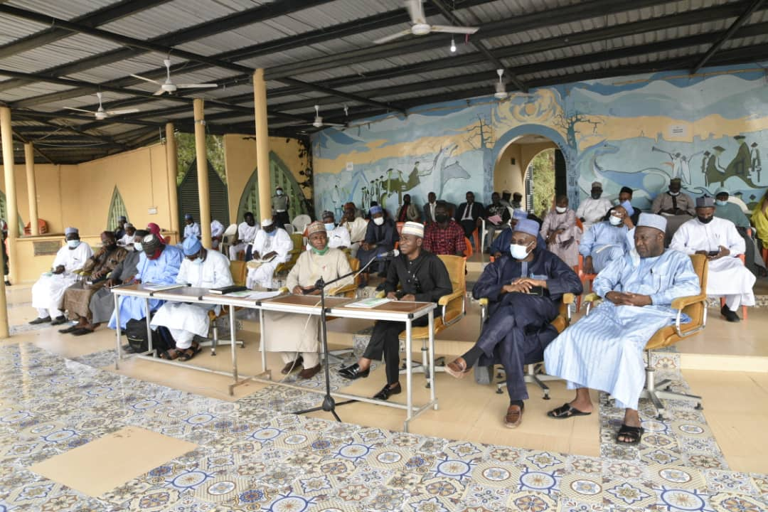 Presidential Visitation Panel addresses ABU Congregation