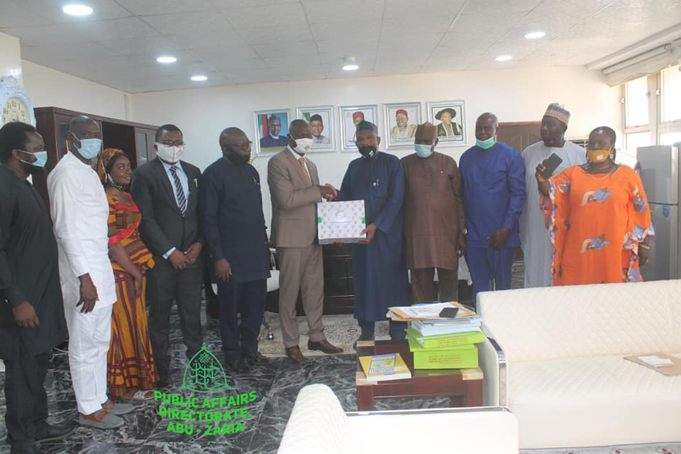 NIOB visits ABU, felicitates with Prof. Bala over appointment as VC