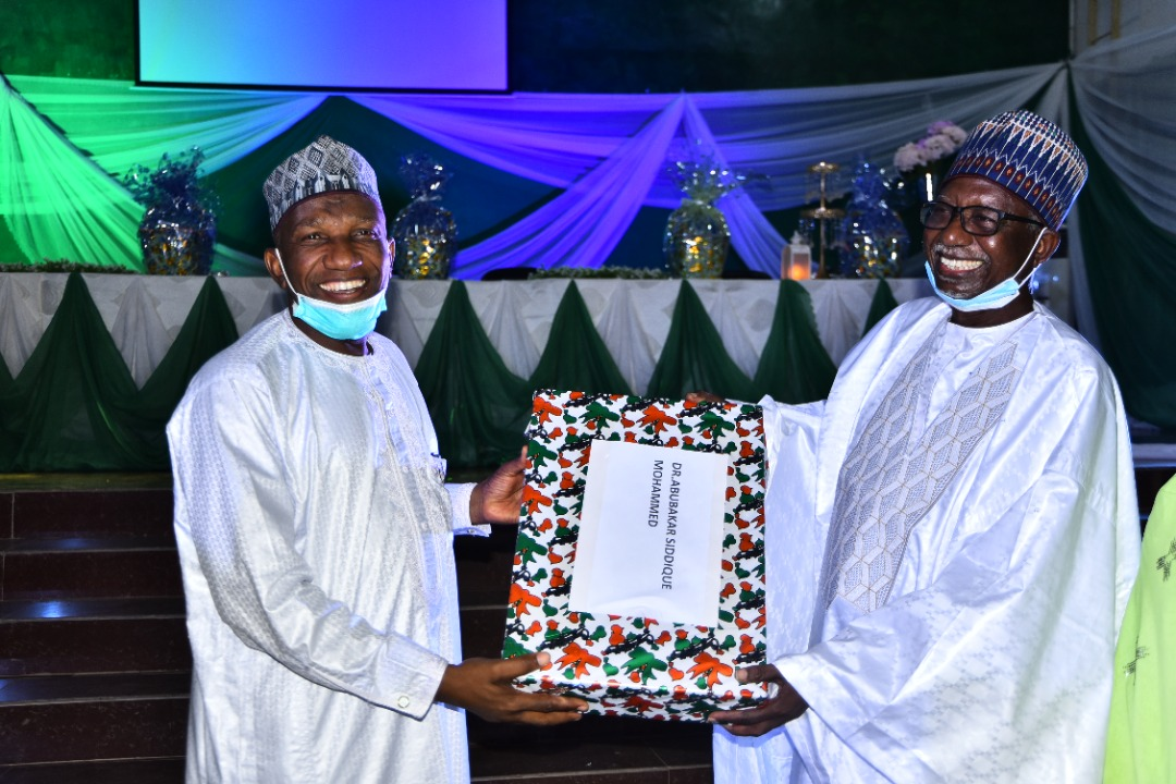 honoured for meritorious services to ABU