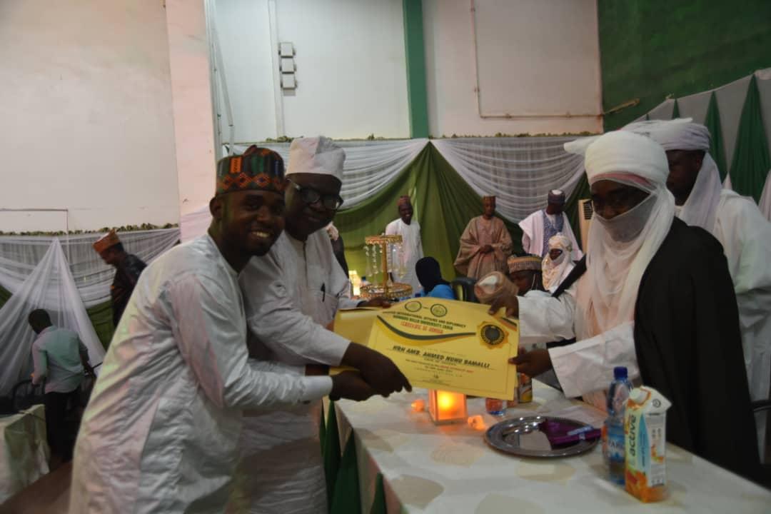 ABU MIAD Alumni Forum honours Emir of Zazzau
