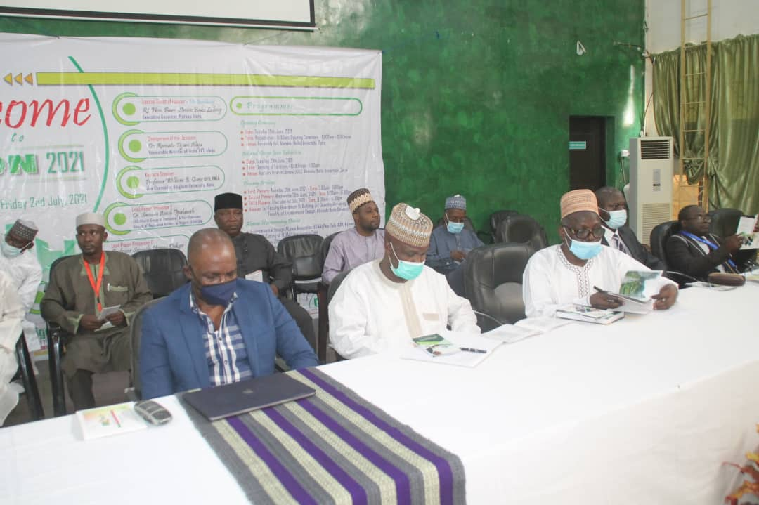 ABU Faculty of Environmental Design holds maiden conference tagged